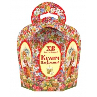 "Коробка подарочная ""Светлая пасха""для кулича, 300-350 гр"