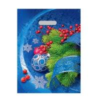 Пакет новогодний Фантазия, 30х40 см, 40 мкм