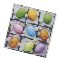 """Салфетки бумажные 3сл., 33x33, """"Пасхальные яйца №2"""", 20шт."""