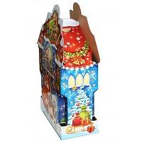 Новогодняя подарочная коробка «Большой Замок АРЧИ» 2000 гр, картонная новогодняя упаковка