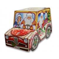 Подарочная упаковка «Ретро авто» 1400 гр, картонная новогодняя упаковка для конфет