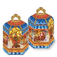 """Коробка подарочная """"Волшебство"""" 1,4 кг, новогодняя упаковка для конфет"""