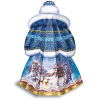Новогодняя подарочная коробка «Снегурочка» 2000 гр, новогодняя упаковка для подарков