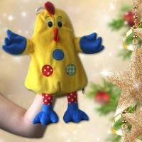 Игрушка-рукавичка «Петя» для подарков, 800-1000гр, мягкая игрушка для подарков