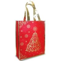 Новогодняя сумка с петлевой ручкой «Коллаж»