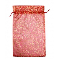 Мешочек из органзы Красный 350х250мм