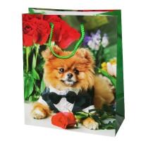 """Пакет подарочный Микс """"Животные"""", М"""
