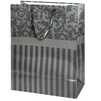 """Бумажный подарочный пакет """"Микс №1"""" тиснение, М"""