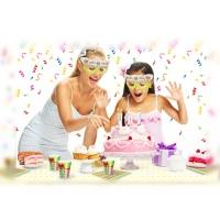 """Детские бумажные очки """"Праздник"""", маски"""