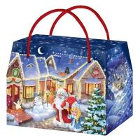 Коробка подарочная «Городок» с тиснением, 800 гр