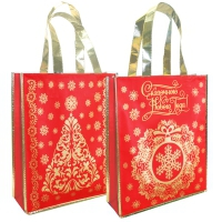 Подарочная сумка с петлевой ручкой «Сказочный НГ» 1500 гр