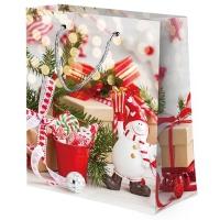 """Пакет подарочный """"Микс Новый год №4"""" M"""