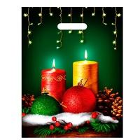 Пакет новогодний Гадание, 31х40 см, 60 мкм