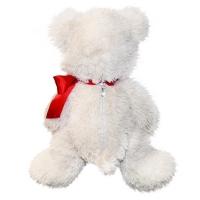 """Игрушка """"Мишка белый""""  320х260х260 мм,  500-700 гр, мягкая игрушка для конфет подарков"""