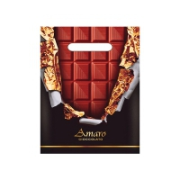 "Пакет ""Горький  шоколад"" 20х30, 30 мкм"