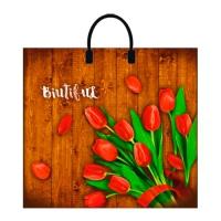 """Пакет """"Любимые цветы"""", 37х34, 80 мкм"""