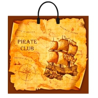 "Пакет ""Пиратский клуб"", 37х34, 80 мкм"