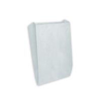 Пакет бумажный с плоским дном, 90х40х205, белый
