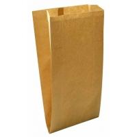 Пакет бумажный с плоским дном, 140х60х260