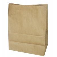 Пакет бумажный крафт без ручек, 80х50х170