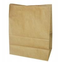Пакет бумажный крафт без ручек, 180х120х290