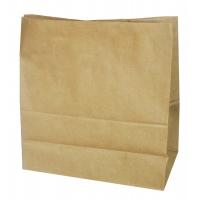 Пакет бумажный крафт без ручек, 350х150х450