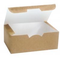Коробка для наггетсов без печати 115х75х45 мм