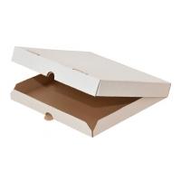 Коробка под пиццу белая, 420х420х40мм