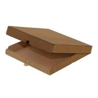 Коробка под пиццу крафт, 330х330х40мм