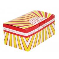 Коробка для наггетсов с печатью 150х91х70 мм