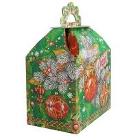 """Подарочная упаковка """"Ларец 1.0"""", 1000 гр, новогодняя упаковка для подарков, конфет"""
