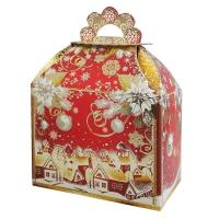 """Подарочная упаковка """"Вьюга"""", 1000 гр, картонная новогодняя упаковка для конфет"""