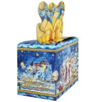 """Подарочная упаковка """"Волшебство"""", 800 гр, новогодняя упаковка для конфет"""