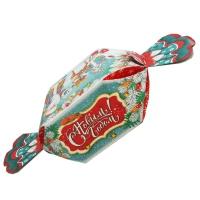 """Подарочная упаковка """"КОНФЕТКА Лесная"""", 700 гр, картонная упаковка для новогодних подарков, конфет"""