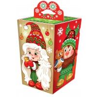"""Подарочная коробка """"Гномики 0.8"""", 700-800 гр, картонная новогодняя упаковка для подарков, конфет"""