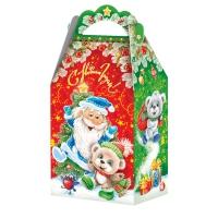 "Подарочная упаковка ""Дед Мороз и мишки"", 1200 гр"