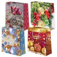 """Пакет подарочный """"Микс Новый год №4"""" L"""