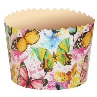 """Бумажные формы """"Бабочки цветные"""" 70х60 мм, 100 гр"""