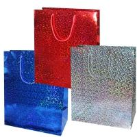 """Пакет подарочный  """"Голография"""", L"""