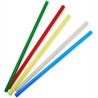 Трубочки прямые цветные 8x240, 250 шт