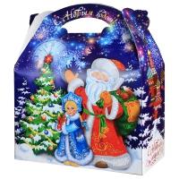 """Коробка подарочная """"Фантазия"""", новогодняя упаковка для конфет"""