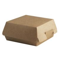 Коробка для бургера без печати 100х100х60 мм