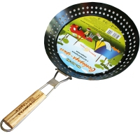 Сковорода-гриль с антипригарным покрытием