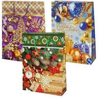 """Пакет подарочный """"Микс Новый год №2"""" XL"""