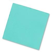 Салфетки бумажные 2сл., 33х33, Bouquet  Бирюзовые, 20шт.