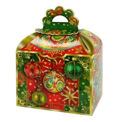 """Новогодняя упаковка """"Ларец"""" 1200 гр, картонная подарочная коробка"""