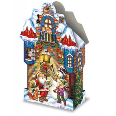Новогодняя подарочная коробка «Концерт» 2000 гр, новогодняя упаковка для конфет