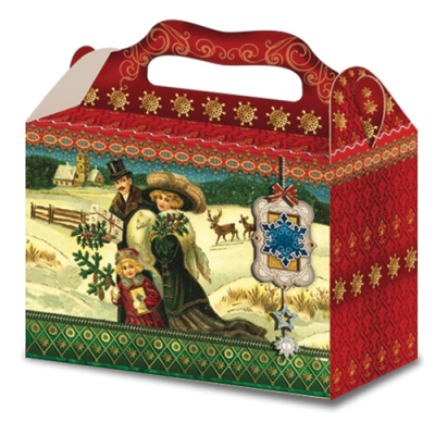 "Коробка подарочная ""Прогулка"" 2500 гр для упаковки подарков"