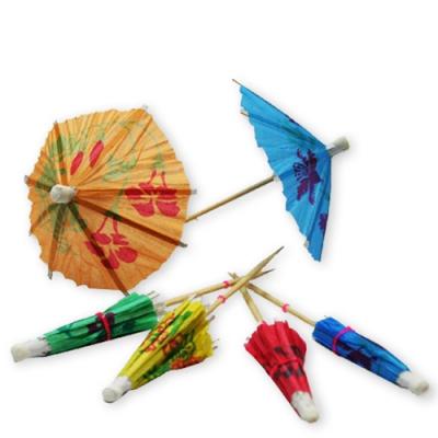 Зонтики для мороженого