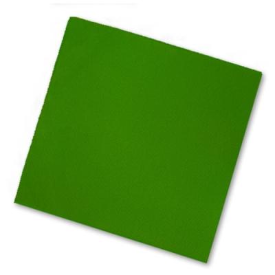 Салфетки бумажные 2сл., 33x33, Bouquet Зелёные, 20шт.